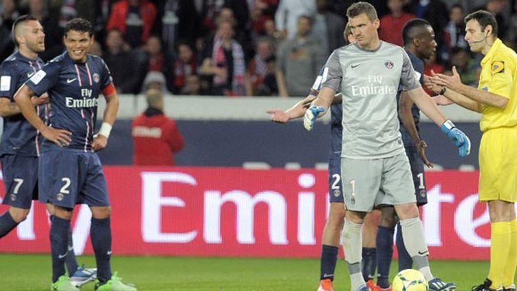 Les décisions de Mr. Castro, l'arbitre du match contre Valenciennes, ont été contestées par les Parisiens