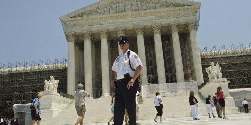 Le bâtiment de la Cour suprême des Etats-Unis à Washington (28-6-2012) (AFP - Kris Connor - Getty Images/)