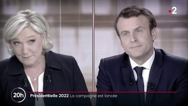 Politique : Macron-Le Pen, le duel annoncé de la campagne présidentielle de 2022