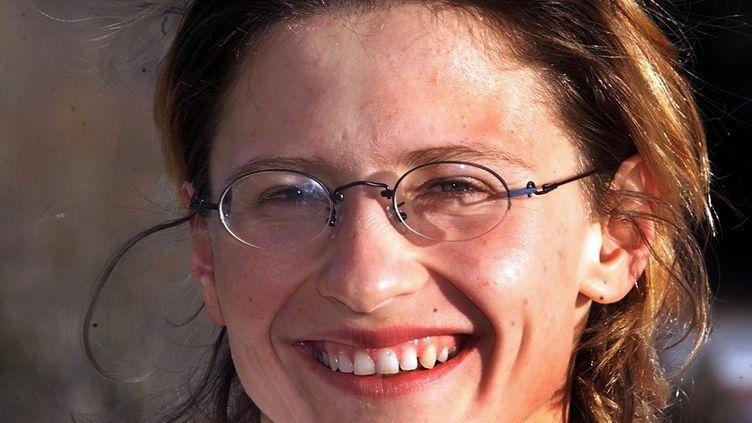 Roxana Maracineanu, à  Font-Romeu en 2000. (JEAN-LOUP GAUTREAU / AFP)