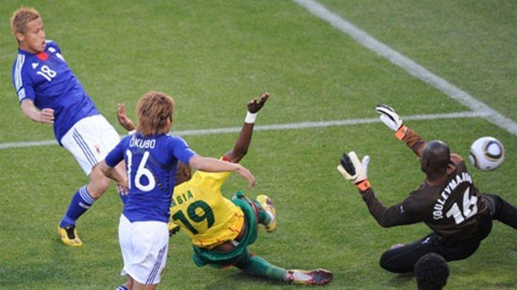 Keisuke Honda a brisé les espoirs des Camerounais