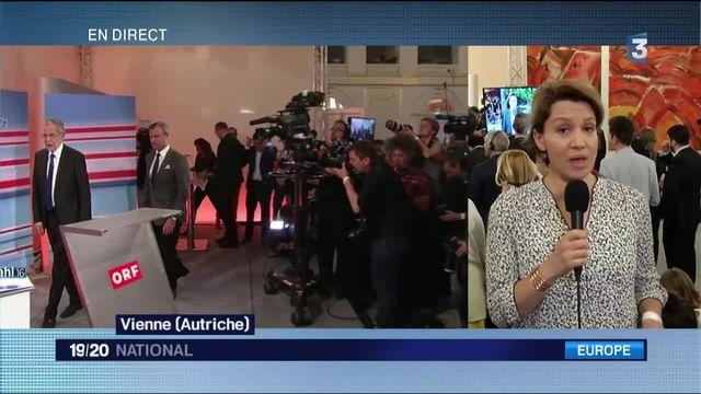 Autriche : le candidat d'extrême droite et l'écologiste au coude à coude