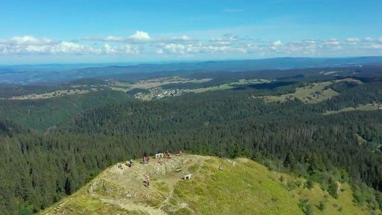 La rédaction du 13 heures vous emmène arpenter les plus beaux sentiers de randonnée dans le parc naturel du Jura, qu'on peut parcourir à pied, à vélo ou à cheval, dans un décor en pleine nature. (FRANCE 2)