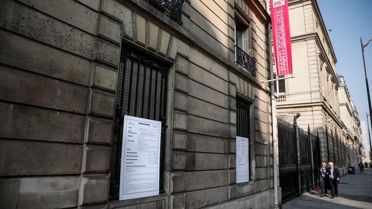 L'ancien siège du parti socialiste, rue Solferino à Paris. (THOMAS PADILLA / MAXPPP)