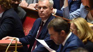 François de Rugy, ministre de la Transition écologique à l'Assemblée nationale le 4 juin 2019. (LUCAS BARIOULET / AFP)