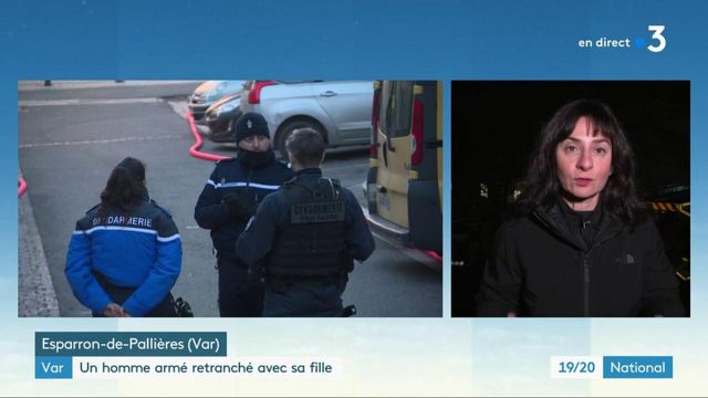 Var : un homme armé retranché avec sa fille de 3 ans