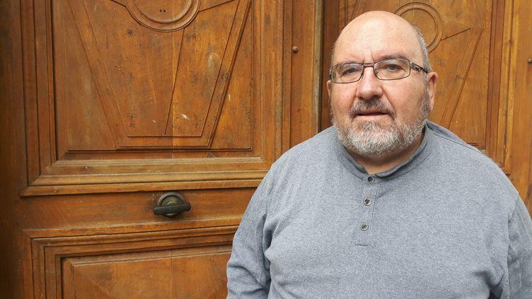 Le père Vignon, lanceur d'alerte,lance une pétition pour réclamer la démission du cardinal Barbarin. (SEBASTIEN BAER / FRANCEINFO / RADIO FRANCE)