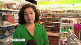 Zari Keshman, membre de la communauté afghane en France. (France 2)