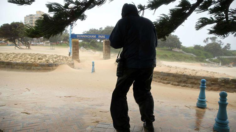 (Une tempête violente sévit sur la côte Est de l'Australie depuis lundi. Trois personnes ont perdu la vie. © SIPA/Newspix/REX Shutterstoc)