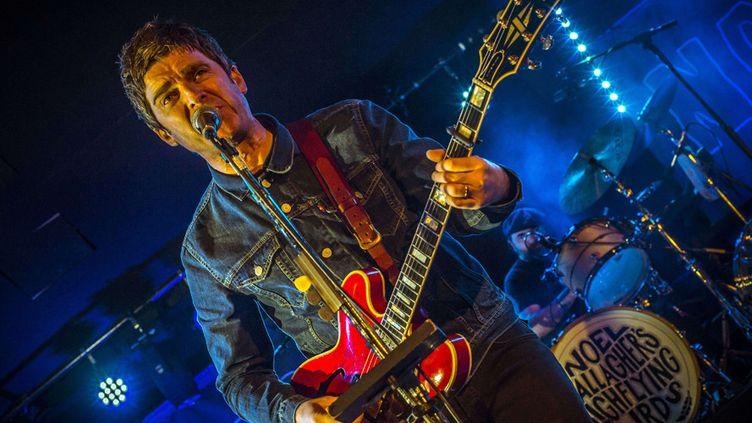 Noel Gallagher sur scène à Londres, au Dome, le 2 février 2015  (Lawrence Watson / Rex / Sipa)