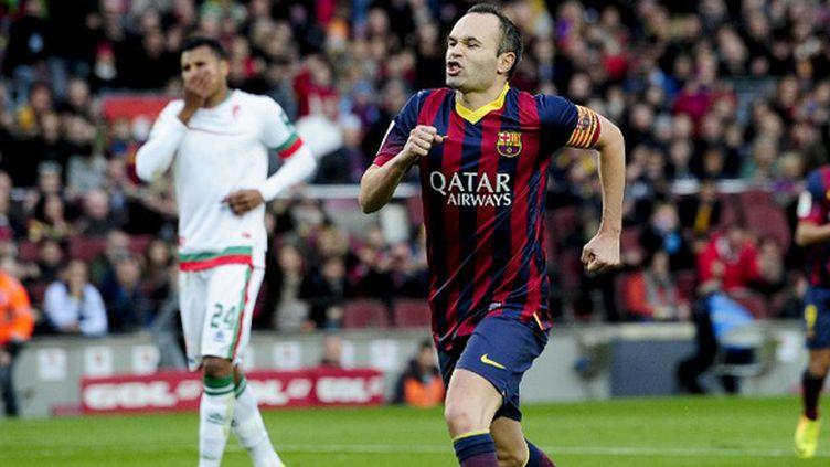 Andres Iniesta (Barcelone) (JOSEP LAGO / AFP)