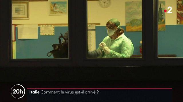 Covid-19 en Italie : l'origine du virus toujours inconnue