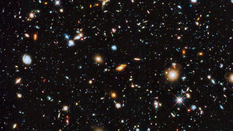 Une image de l'Agence spatiale européenne (ESA), illustrant l'Univers, le 4 juin 2014. (ESA / HUBBLE / AFP)