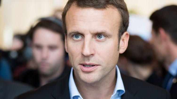"""(Emmanuel Macron a assuré qu'il ne s'intéressait pas aux """"petites polémiques"""" © MaxPPP)"""