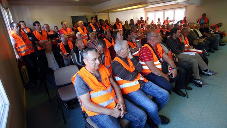 (Audience en décembre dernier après une requête de mineurs à Longwy © Maxppp)