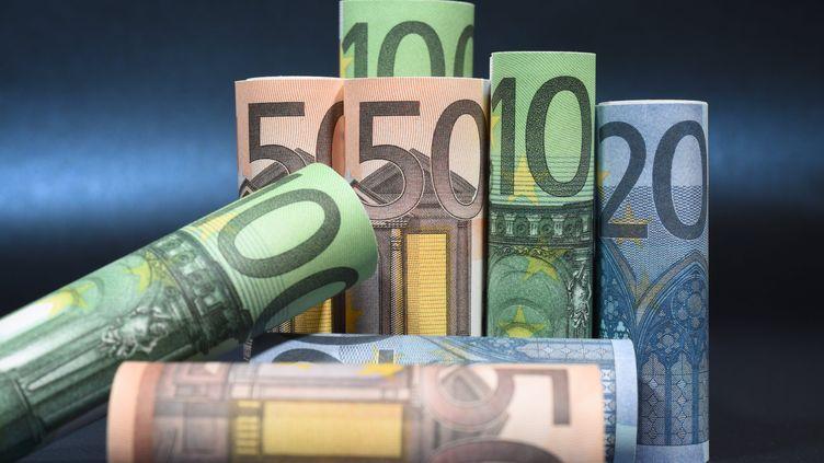 Des billets en euros, le 11 octobre 2017. (MAXPPP)