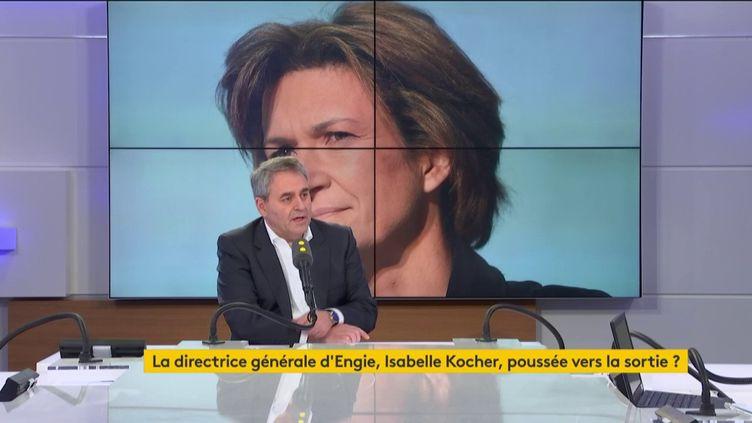 """Xavier Bertrand, président de la région Hauts-de-France, était l'invité du """"8h30 franceinfo"""" le jeudi 6 février 2020. (FRANCEINFO / RADIOFRANCE)"""