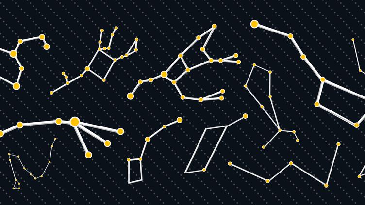 Révisez vos constellations avant la Nuit des étoiles grâce à franceinfo.fr. (BATISTE POULIN / FRANCEINFO)