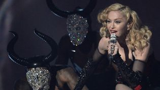 Madonna au Grammy Awards, février 2015, à Los Angelès  (ROBYN BECK / AFP)