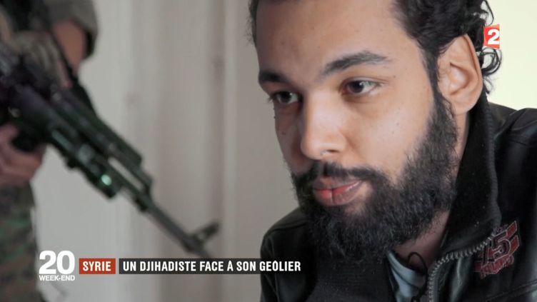 Capture d'écran d'une interview de Yassine Sakkam diffusée sur France 2 le 21 janvier 2018. (FRANCE 2)