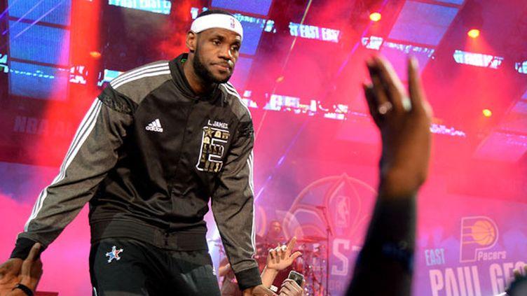 Le joueur de Cleveland, LeBron James