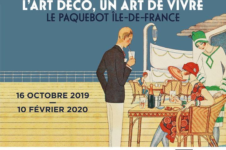 Affiche de l'exposition du musée des années trente (Musée des années trente)