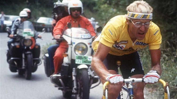 Laurent Fignon maillot jaune Tour de France 1984