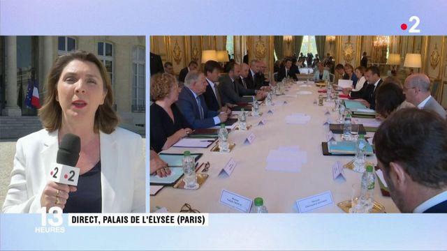 France : dernier conseil des ministres avant les vacances