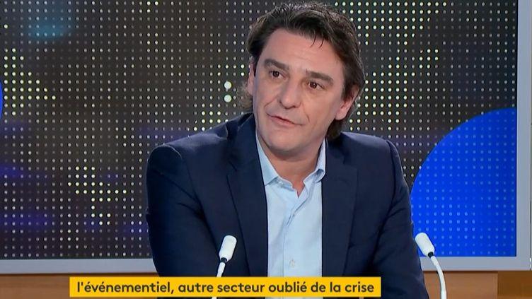 Fabrice Laborde (Capture d'écran franceinfo)