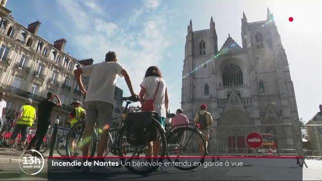 Incendie de Nantes : un bénévole entendu en garde à vue