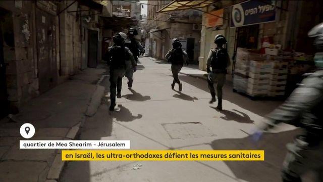 Israël : les ultra-orthodoxes défient les mesures sanitaires