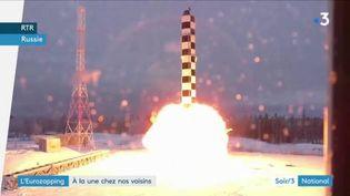 La Russie va se doter de nouveaux missiles balistiques. (FRANCE 3)