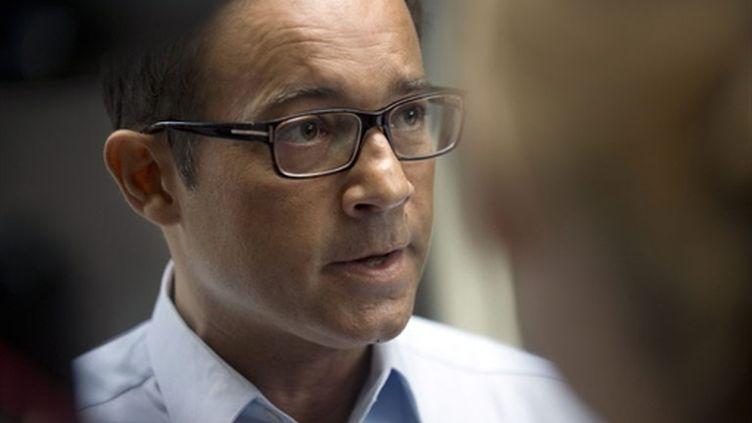Jean-Luc Delarue (3 septembre 2010) (AFP/ FRED DUFOUR)