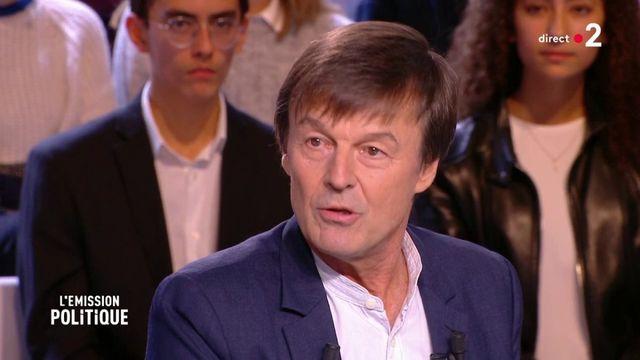 """Nicolas Hulot sur sa démission : """"aucun regret"""""""