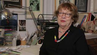 Florence Cestac, autrice de bande dessinée. (CAPTURE ECRAN FRANCE 2)