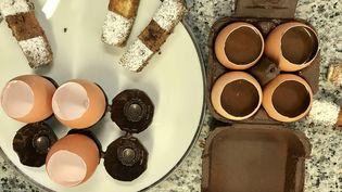 Oeufs en chocolat de Christophe Felder (LAURENT MARIOTTE / RADIO FRANCE)