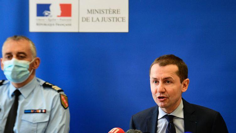 Le procureur d'Épinal Nicolas Heitz (SEBASTIEN BOZON / AFP)