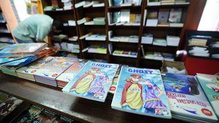 Des mangas dans une librairie. (FAROUK BATICHE / AFP)