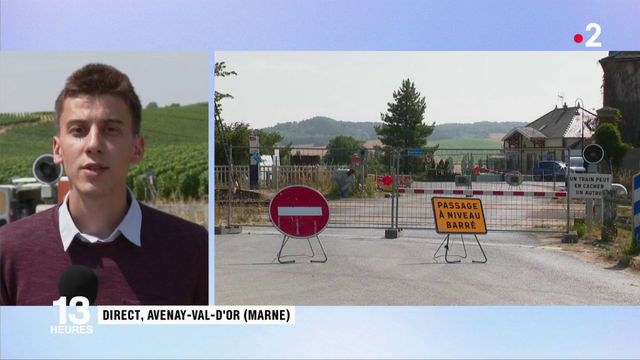 Accident sur un passage à niveau dans la Marne : la commune d'Avenay-Val-d'Or encore sous le choc