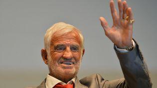 Jean-Paul Belmondo à Bruxelles, le 19 juin 2012. (ERIC LALMAND / BELGA)