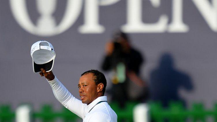 L'ancien N.1 mondial Tiger Woods