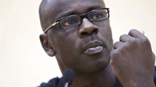 Lilian Thuram football exposition engagement  (PATRICE COPPEE / AFP)
