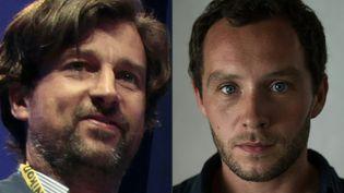 """Jean-Philippe Rémy et Philip Edward Moore, deux envoyés spéciaux du quotidien """"Le Monde"""", ont été arrêtés le28 janvier 2016 au Burundi, et relâchés le lendemain. (CHARLY TRIBALLEAU / AFP)"""