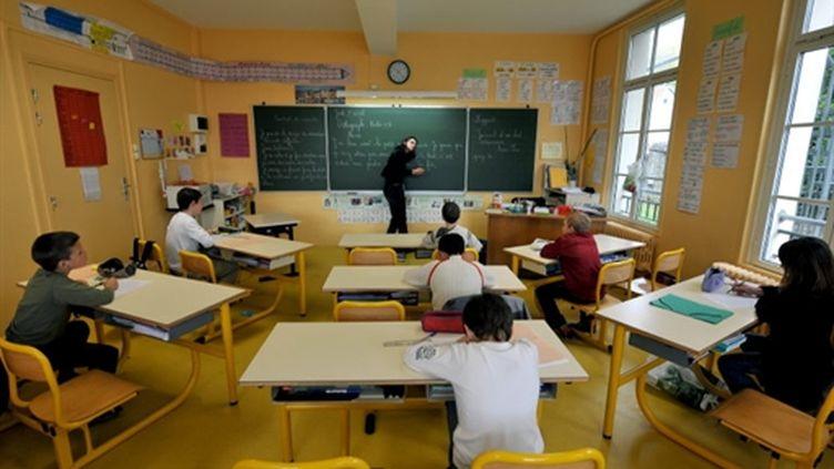 Une école à Honfleur (AFP/MYCHELE DANIAU)