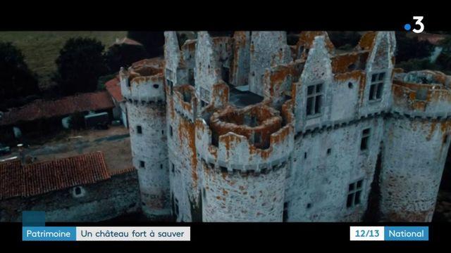 Patrimoine : un château fort à sauver dans les Deux-Sèvres
