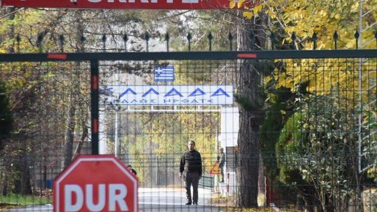 L'homme soupçonné d'être un jihadiste américain, à la frontière entre la Grèce et la Turquie, le 11 novembre 2019. (DHA / AFP)