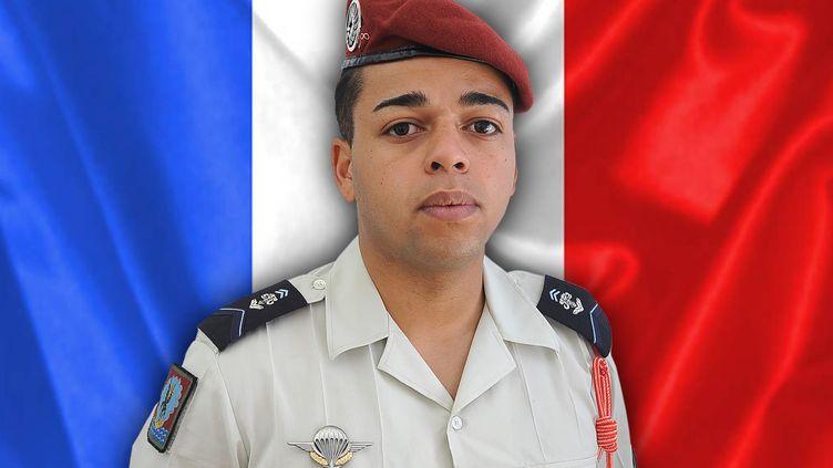 Le brigadier Tojohasina Razafintsalama, mort en opération au Mali, jeudi 23 juillet 2020. (FRENCH ARMY / AFP)