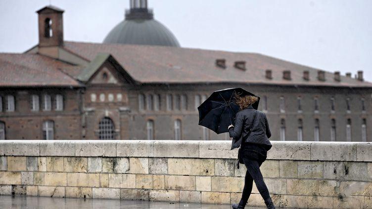 La Haute-Garonne fait partie des départements placés en vigilance orange le 14 octobre 2018. (MAXPPP)