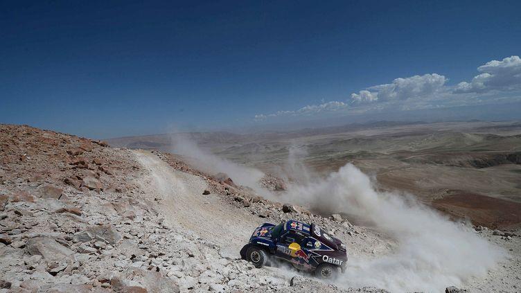 Il n'y aura pas de rallye Dakar au Pérou en janvier prochain (FRANCK FIFE / AFP)