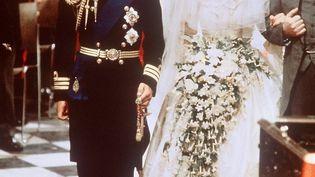 Le mariage du prince Charles et e Dianaà Londres (Angleterre), le 29 juillet 1981. ( AFP )